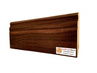 Плинтус МДФ TeckWood Темный орех (Dark Walnut) 100х16х2150 мм.