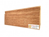 Плинтус МДФ TeckWood Дуб Бостон (Oak Boston) 100х16х2150 мм.