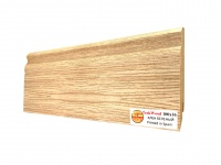 Плинтус МДФ TeckWood Клен беленый (White Maple) 100х16х2150 мм.